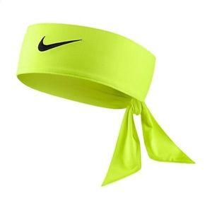 Nike neon adjustable headband